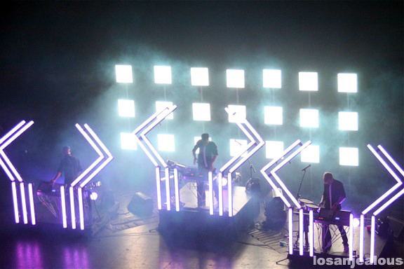 The Glitch Mob @ Club Nokia, August 19, 2011
