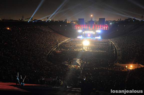 LA Rising @ LA Coliseum, July 30, 2011