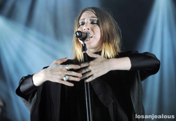 Photos: Lykke Li @ The Greek Theatre, August 3, 2011