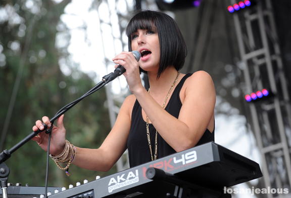 Photos: Phantogram @ 2011 Outside Lands Festival