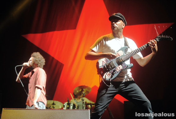 Photos: Rage Against The Machine @ L.A. Rising, L.A. Memorial Coliseum, July 30, 2011