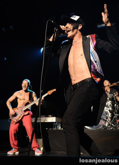 Photos: Red Hot Chili Peppers, Benefit for the Silverlake Conservatory of Music @ Club Nokia, August 25, 2011