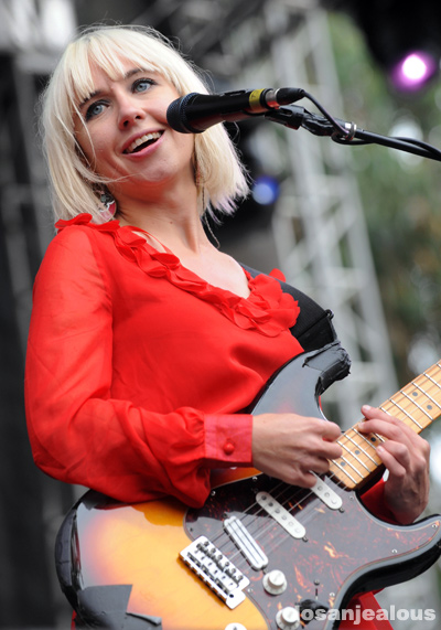 Photos: The Joy Formidable @ 2011 Outside Lands Festival