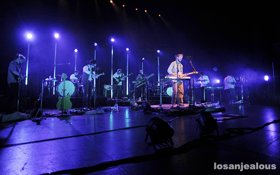 Photos: Bon Iver @ Gibson Amphitheatre, September 20, 2011