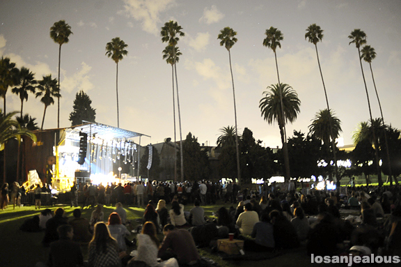 Photos: Bright Eyes with Kurt Vile @ Hollywood Forever Cemetery, September 23, 2011