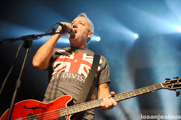Photos: Peter Hook and The Light Peform Joy Division with Moby & Perry Farrell @ The Music Box, September 14, 2011