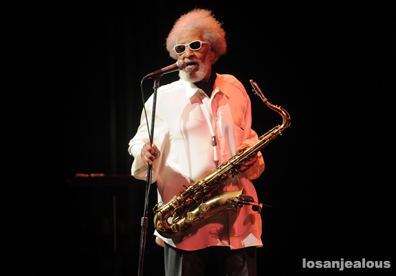 Photos: Sonny Rollins @ UCLA Royce Hall, September 22, 2011