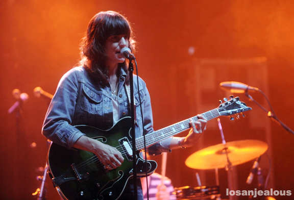 Photos: Eleanor Friedberger @ The Wiltern, September 10, 2011