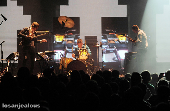 Photos: Battles @ Mayan Theatre, October 17, 2011