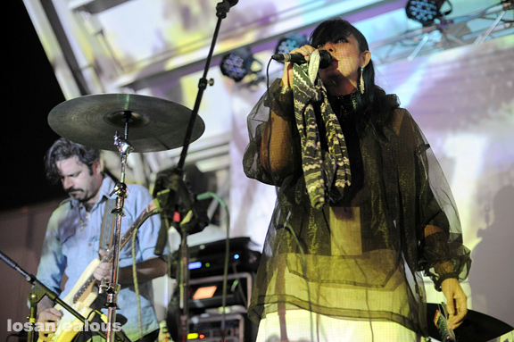 Photos: Gang Gang Dance @ 2011 Filter Culture Collide Festival