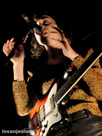 Photos: St. Vincent @ The Music Box, October 18, 2011