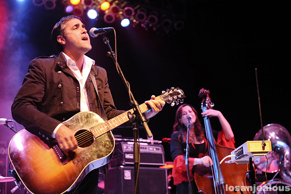Photos: Devotchka @ Greek Theater, October 1, 2011