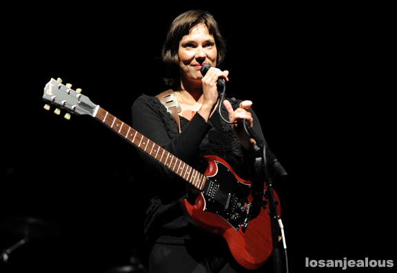 Photos: Lætitia Sadier @ Greek Theatre, October 4, 2011