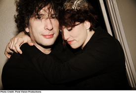 An Evening with Neil Gaiman & Amanda Palmer @ Wilshire Ebell Theatre On Halloween–Win Tickets