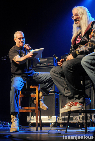 Photos: Henry Rollins Interviews Dinosaur Jr. @ The Music Box, December 14, 2011