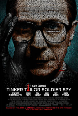 Tinker Tailor Solider Spy Starring Gary Oldman--Opens This Friday 12/9--Win a Prize Pack