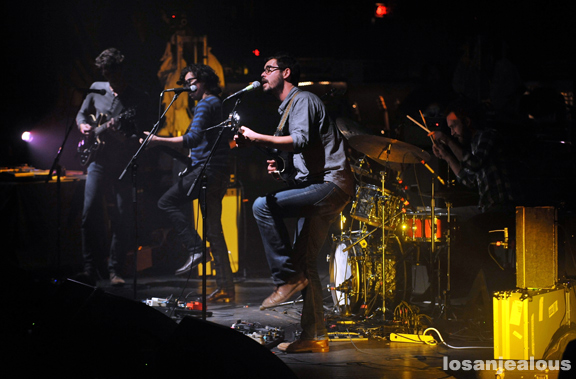 Photos: White Denim @ Los Angeles Theatre, January 27, 2012