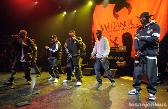 Photos: Wu-Tang Clan @ Club Nokia, January 21, 2012