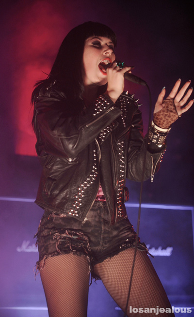 Photos: Sleigh Bells @ Mayan Theatre, February 21, 2012
