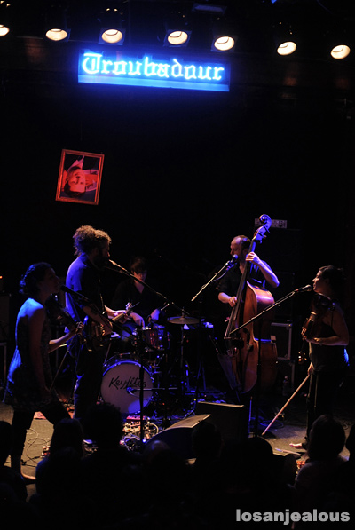 Photos: Thee Silver Mt. Zion Memorial Orchestra Band @ Troubadour, February 8, 2012