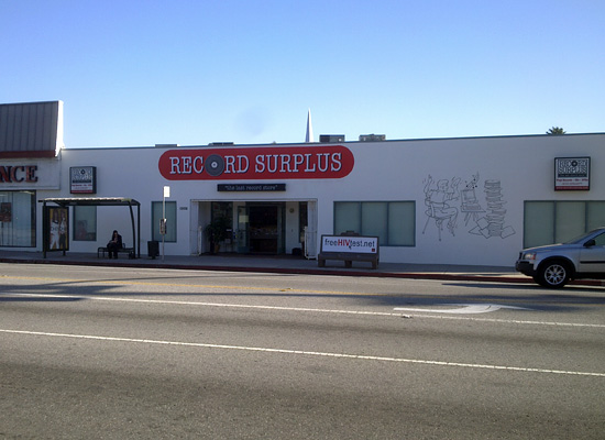 Record Surplus: Now Over on Santa Monica Blvd.