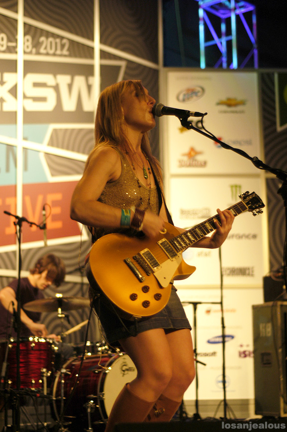 SXSW Music 2012 Photos: Heartless Bastards @ Radio Day Stage, Austin Convention Center, Friday March 16