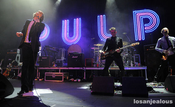 Photos: Pulp @ Fox Theatre Pomona, April 19, 2012