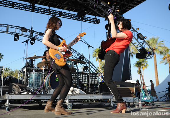 Coachella 2012 Photos: Wild Flag (Weekend 1)
