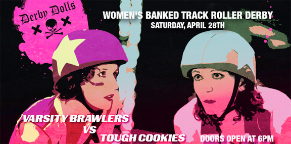 The Hunger Bout:  DF exposes Hollywood lies & previews LADD matchup (Brawlers v. Cookies, Sat. April 28 @ the Doll Fac)