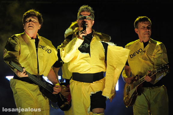 Photos: Devo @ Hollywood Park | Friday Night Live–ROQ at The Races, May 12, 2012
