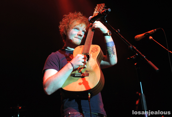 Photos: Ed Sheeran @ Hollywood Palladium, May 8, 2012