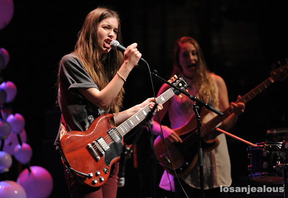 Photos: Haim @ UCLA Royce Hall, May 16, 2012