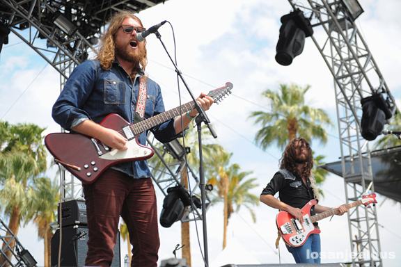 Coachella 2012 Photos: The Sheepdogs (Weekend 1)