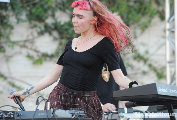 Photos: Grimes @ Make Music Pasadena 2012
