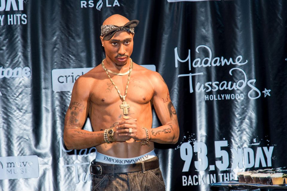 Tupac Back--New Figure Unveiled at Madame Tussauds Hollywood