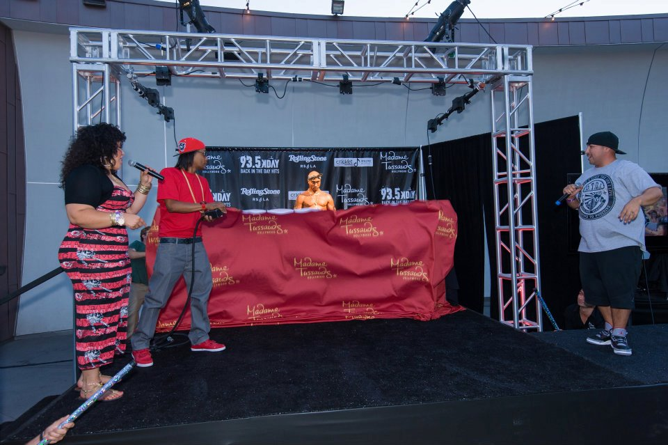 Madame Tussauds Tupac Unveiling Party