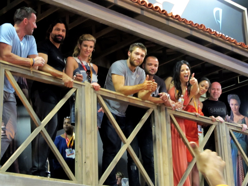 07 Comic Con '12 - Spartacus Cast