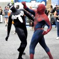 10 Comic Con '12 - Spider Men Fight