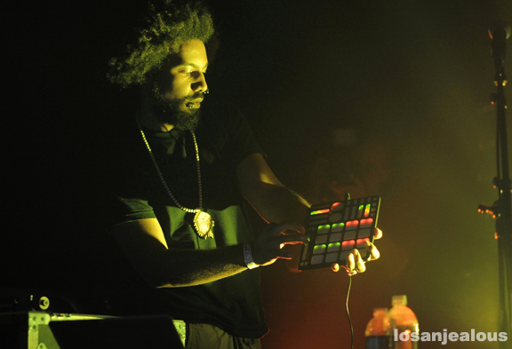 Photos: Thavius Beck, The Log.Os, Sonnymoon, Gonjasufi & Samiyam @ ArtDontSleep, Echoplex, July 19, 2012
