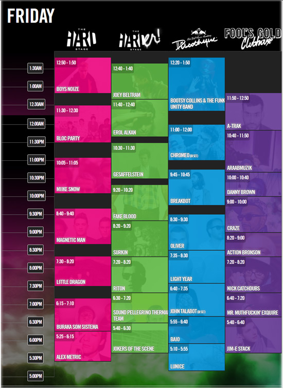 HARD Summer Set Times & Preview