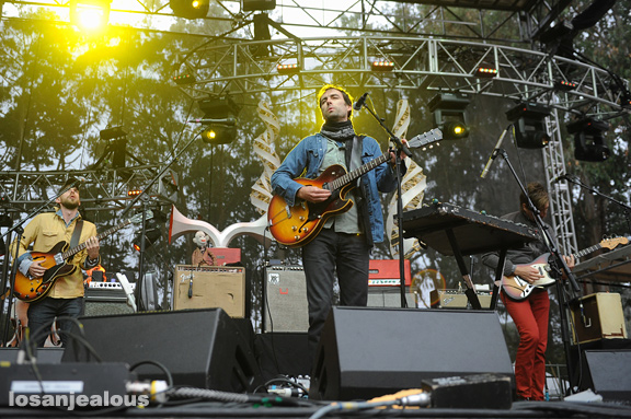 Photos: Andrew Bird @ 2012 Outside Lands Festival