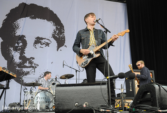 Photos: Franz Ferdinand @ 2012 Outside Lands Festival