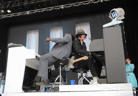 Photos: Jack White @ 2012 Outside Lands Festival