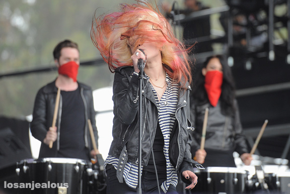 Photos: The Kills @ 2012 Outside Lands Festival