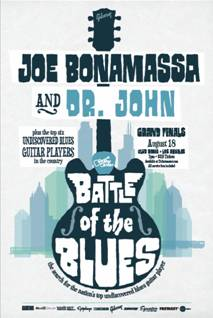 GC Battle of the Blues featuring Joe Bonamassa and Dr. John @ Club Nokia This Saturday: Win Tickets Now