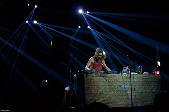 Photos & Notes: Gaslamp Killer and Friends @ Mayan Theatre, September 18, 2012