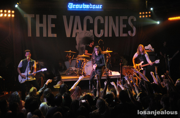 Photos: The Vaccines @ Troubadour, September 13, 2012