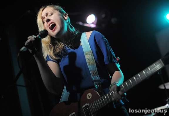 Photos: Corin Tucker Band @ The Echo, October 10, 2012