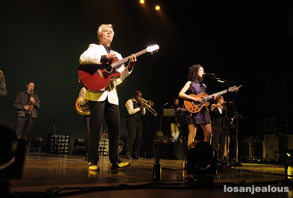 Photos: David Byrne & St. Vincent @ Greek Theatre, October 13, 2012