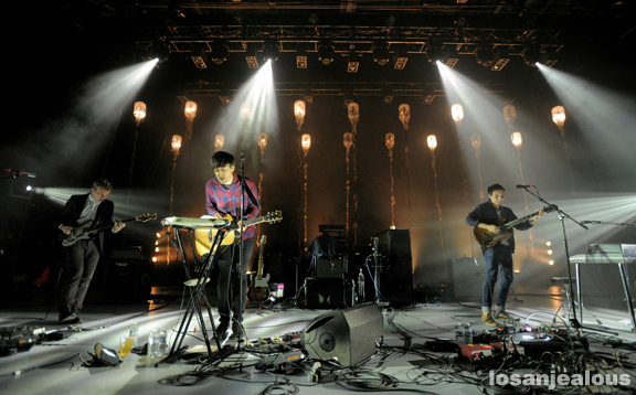 Photos: Grizzly Bear @ Greek Theatre, October 10, 2012